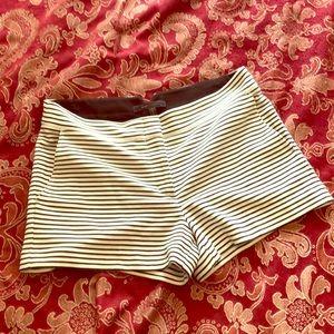 BCBG maxazria striped shorts